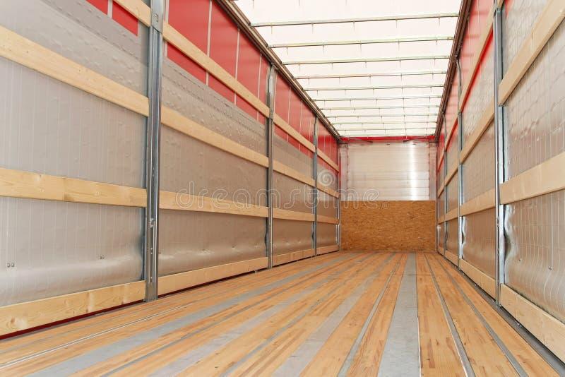 ciężarówka pozioma semi fotografia stock