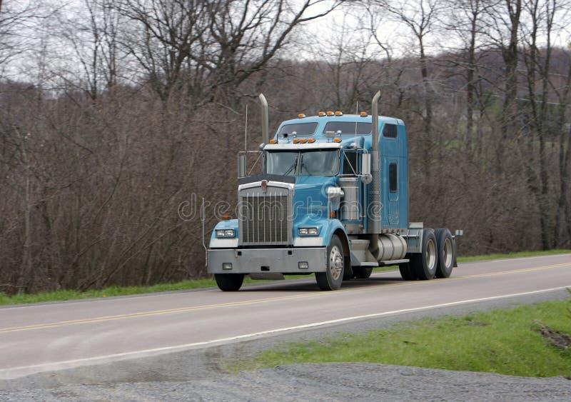 ciężarówka semi przyczepy obraz stock
