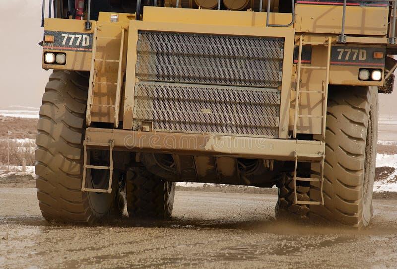 ciężarówka wysypisko zdjęcie royalty free