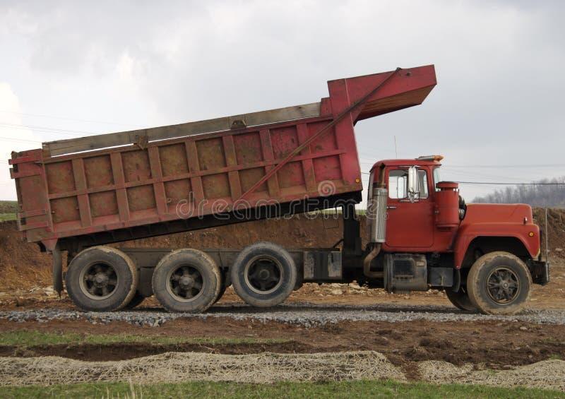 ciężarówka wysypisko fotografia royalty free
