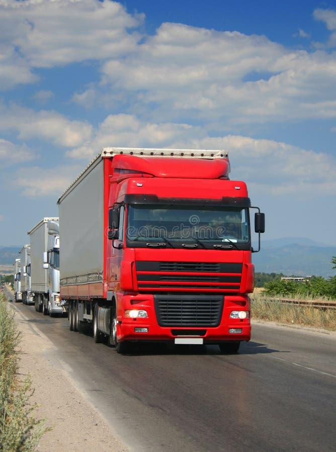 ciężarówki. zdjęcie royalty free