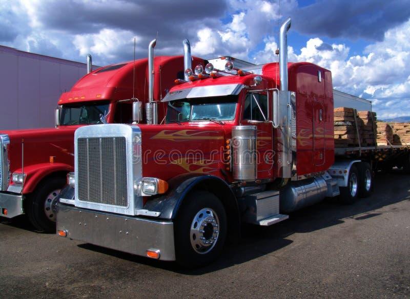 ciężarówki. zdjęcia royalty free