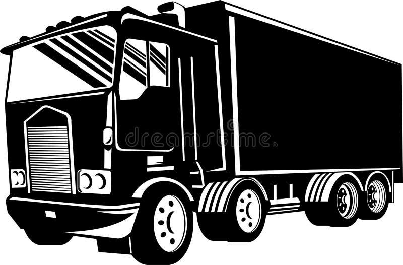 ciężarówki ciężarówka ilustracja wektor