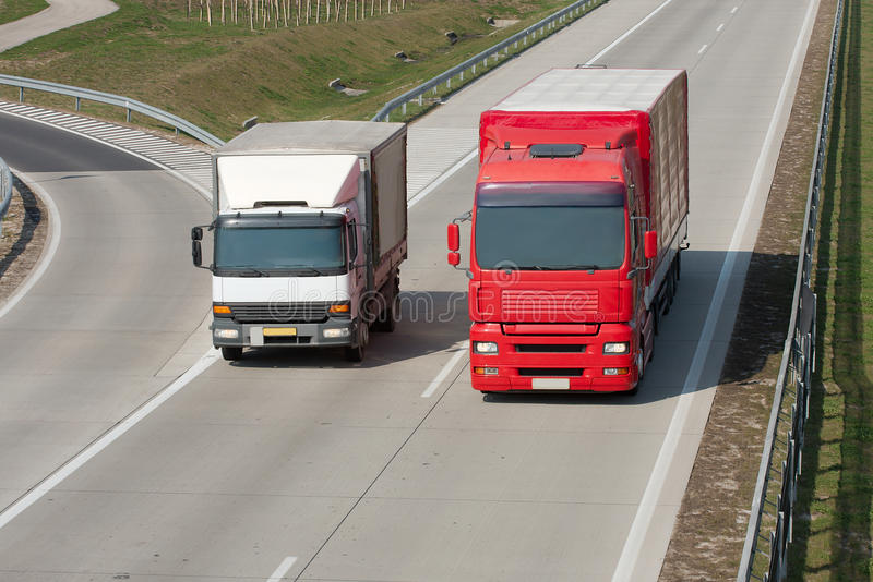 Ciężarówki zdjęcia stock