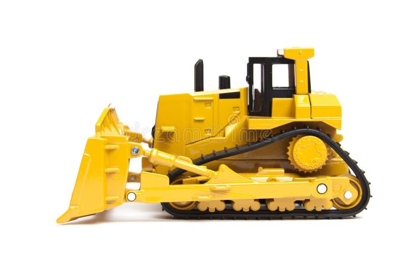 ciężka buldożer zabawka obrazy royalty free