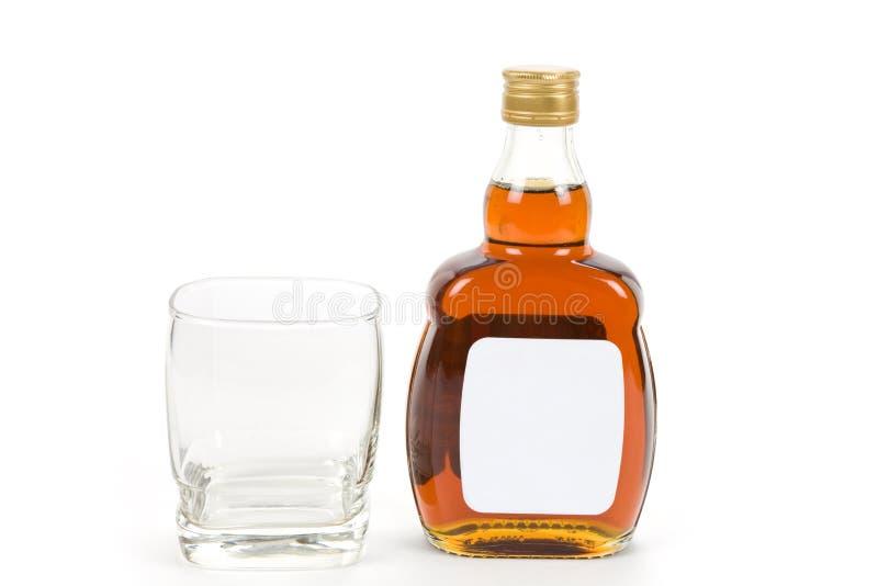 ciężki butelka trunek zdjęcie stock