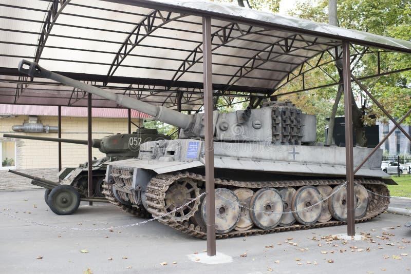 Ciężki Niemiecki zbiornik T-VI H obraz royalty free