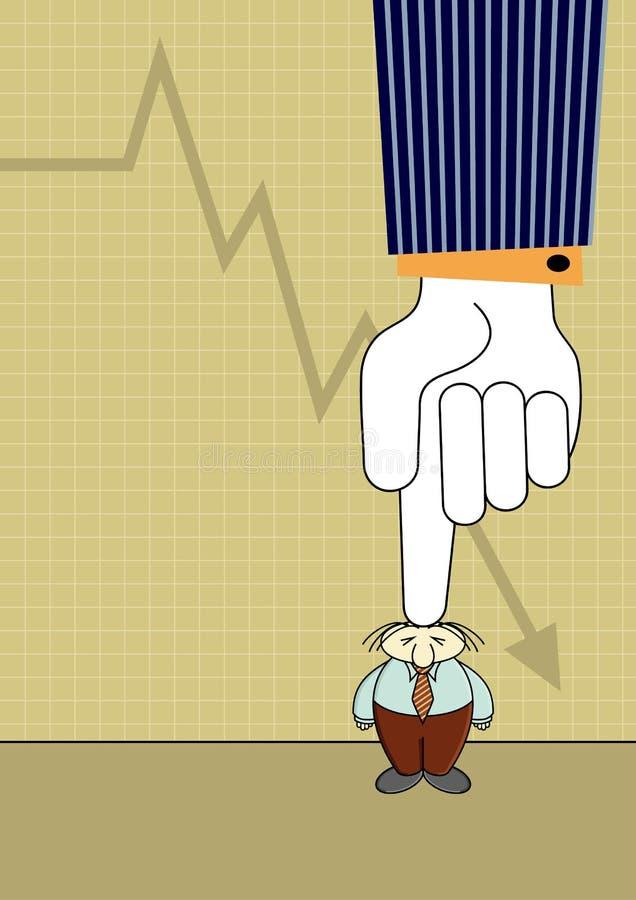 ciśnienie royalty ilustracja
