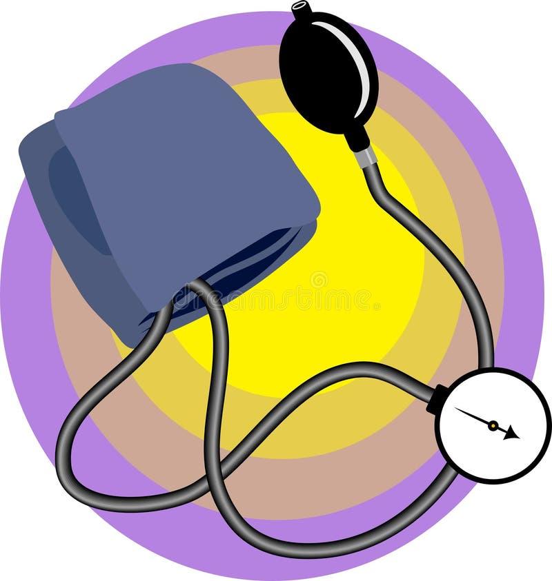 ciśnienie krwi ilustracja wektor
