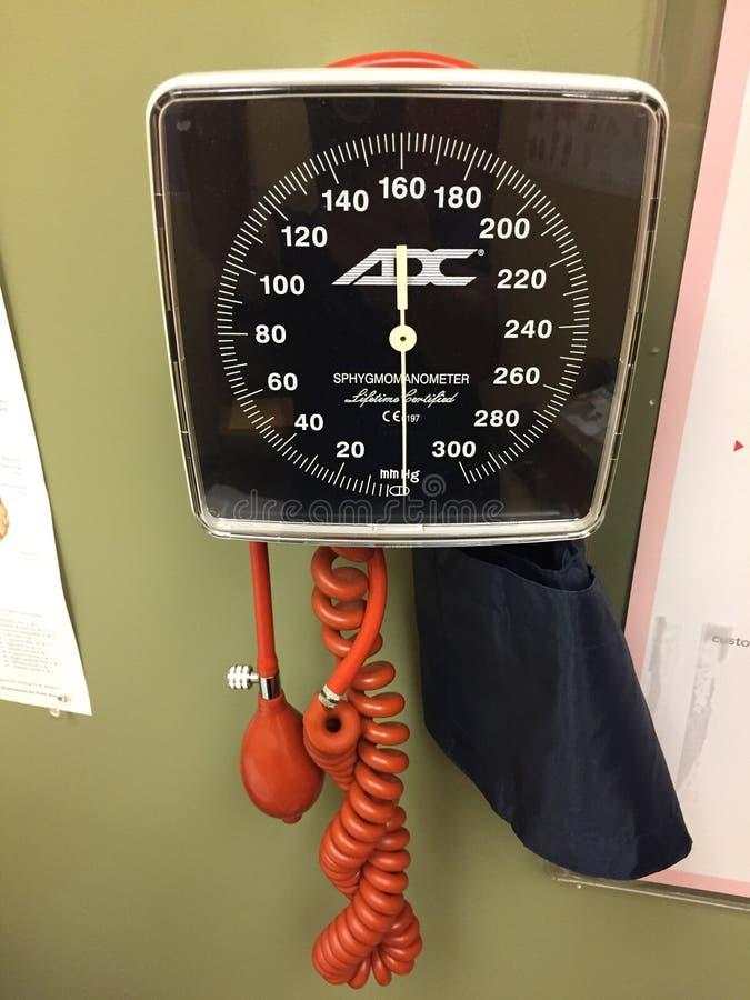 Ciśnienie krwi metr fotografia stock