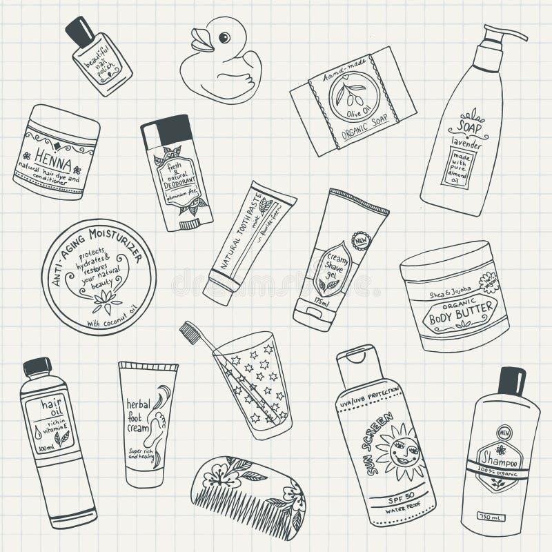 ciała opieki życia produktów zdrój wciąż ilustracji