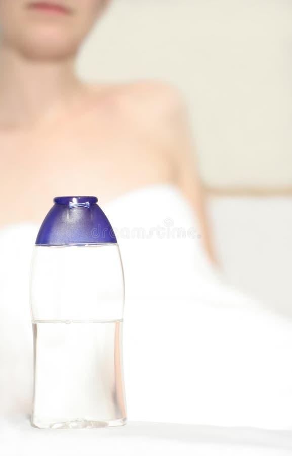 ciało opieki prysznic obrazy stock