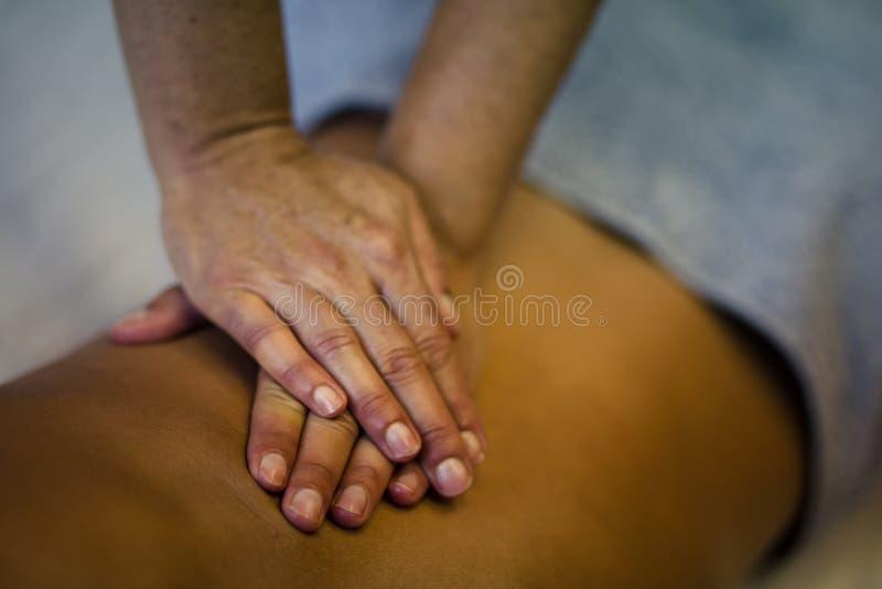 Ciało zasługuje dobrego masaż obraz stock