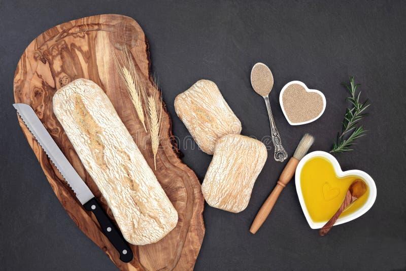 Ciabatta bröd arkivbild