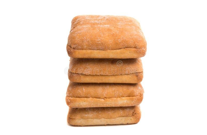 ciabatta per i panini immagini stock