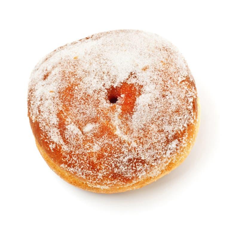 Ciambella in zucchero in polvere immagine stock libera da diritti