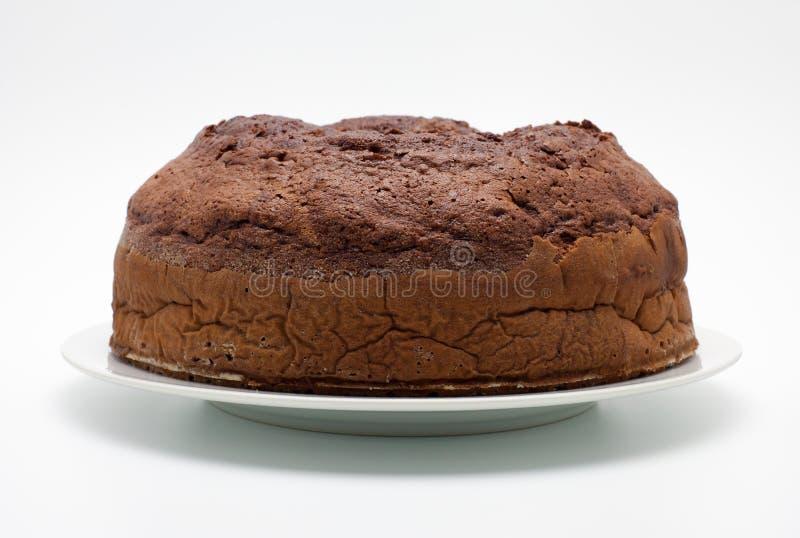 Ciambellone (καθαρή σοκολάτα) στοκ εικόνες