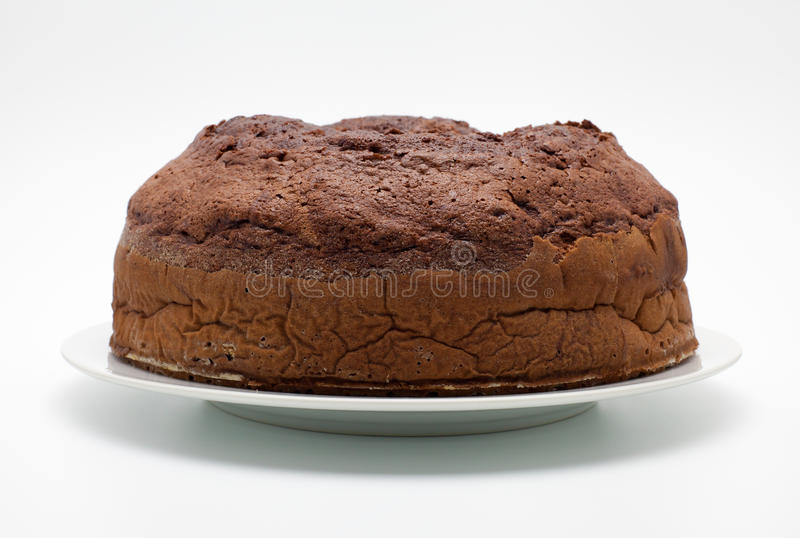 Ciambellone (纯净的巧克力) 库存图片