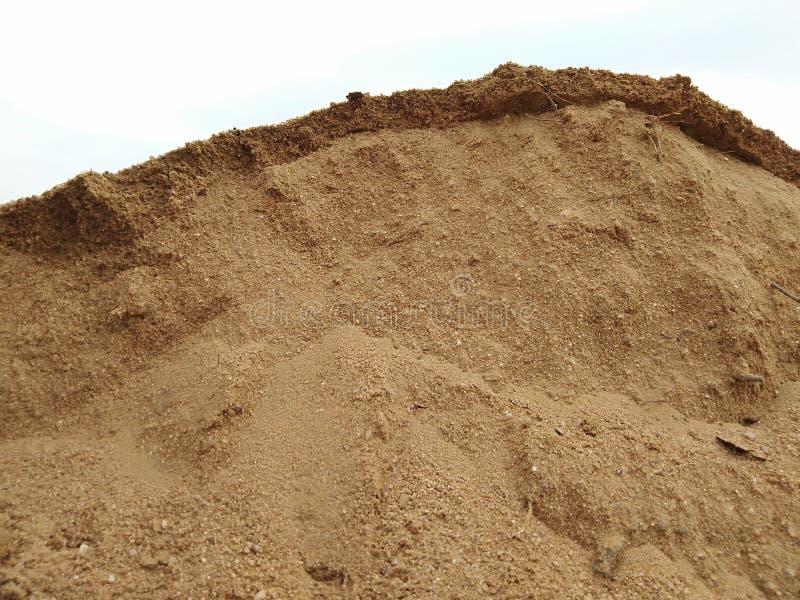 ?ciana piasek przygotowywa wspinać się it& x27; s zdjęcie stock