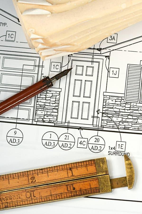 Download Cianografie Architettoniche Immagine Stock - Immagine di progettista, costruzione: 7314733