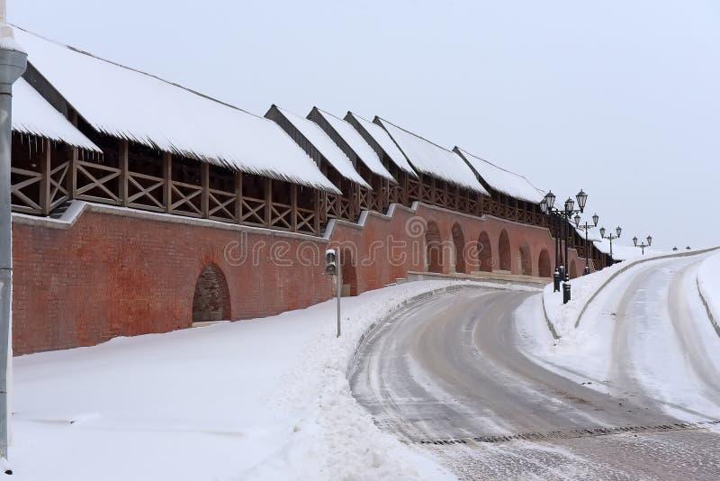 ?ciany Kazan Kremlin obraz royalty free