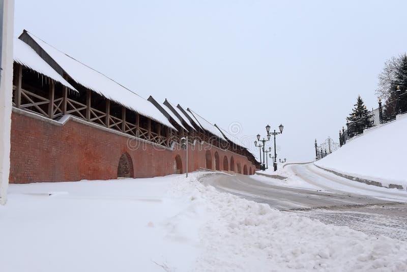 ?ciany Kazan Kremlin zdjęcia royalty free