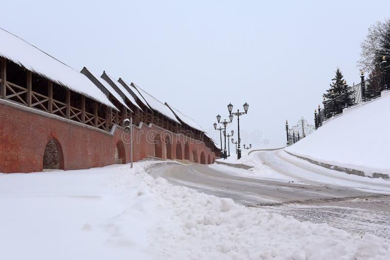 ?ciany Kazan Kremlin zdjęcie stock
