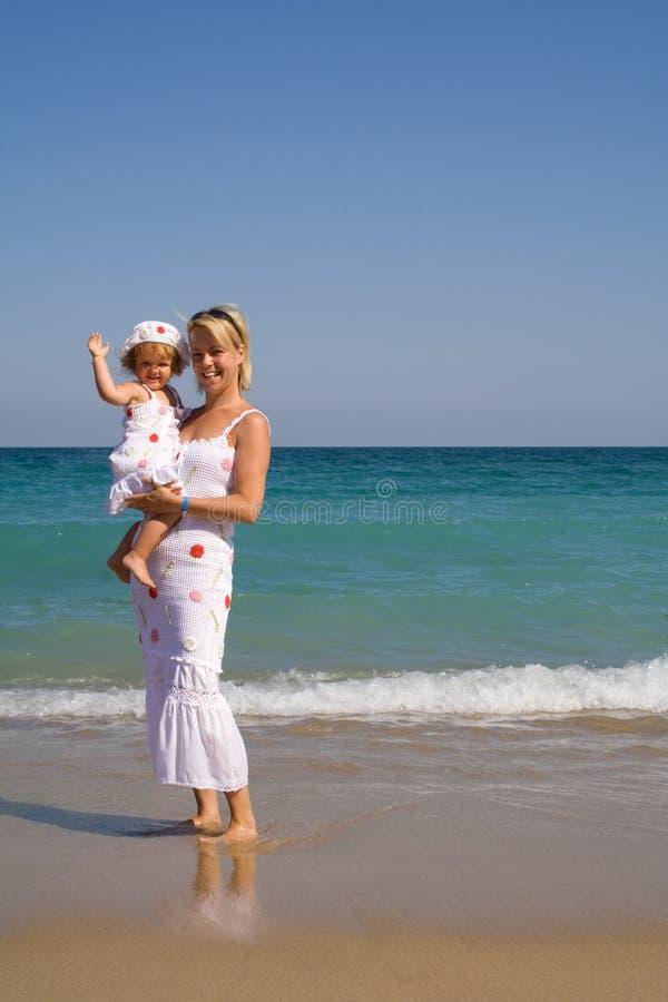 Ciao dalla spiaggia immagine stock libera da diritti