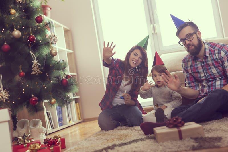Ciao Natale immagini stock libere da diritti
