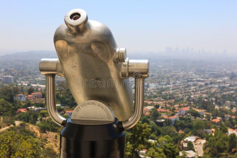 Ciao-Spia Los Angeles immagine stock libera da diritti