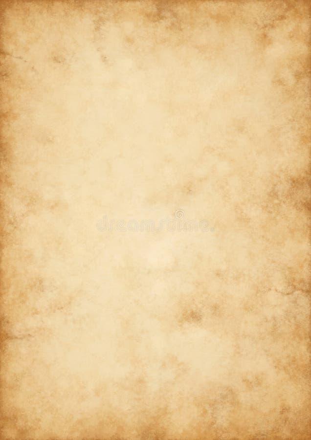 Ciao vecchia pergamena di qualità immagine stock