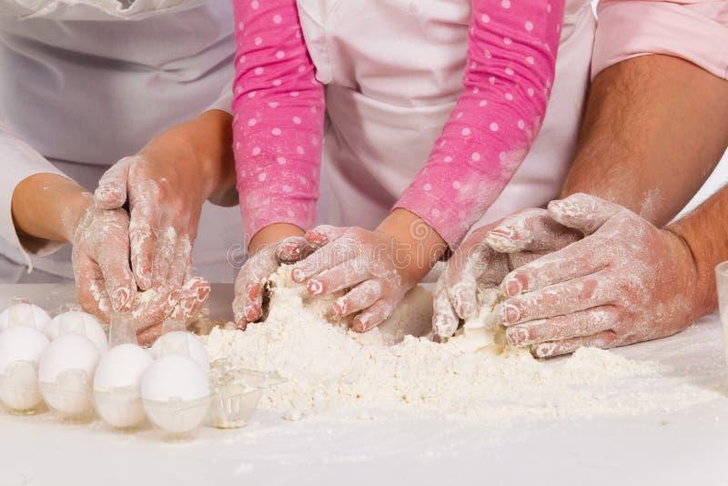 ciasta rodziny target2496_0_ fotografia stock