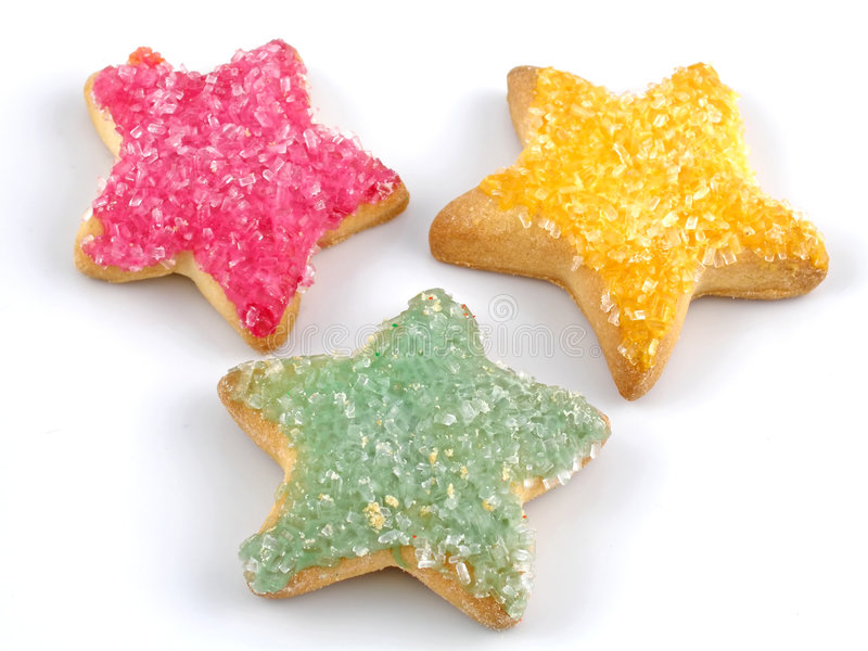 ciasteczka cukrowe obraz stock