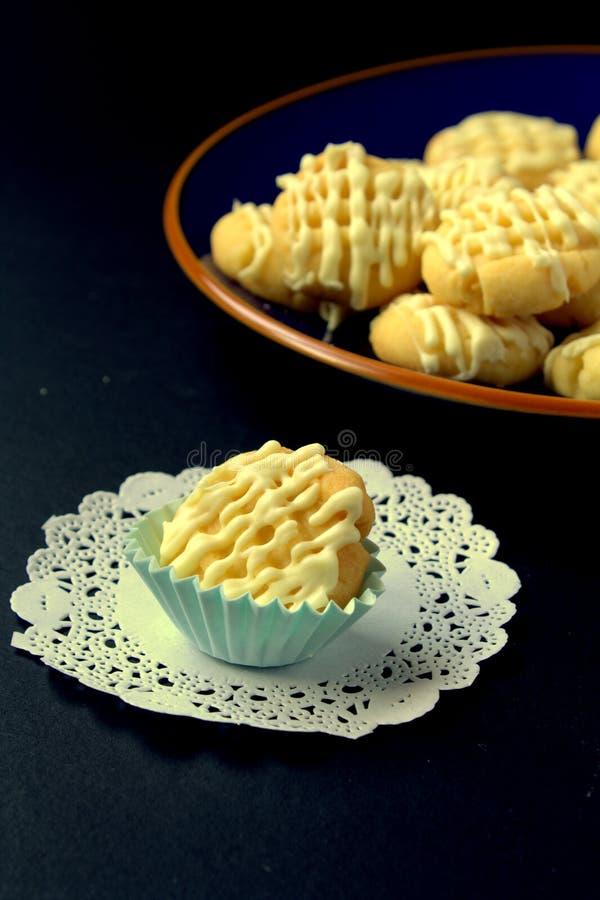 ciasteczka masła kakaowego zdjęcia stock