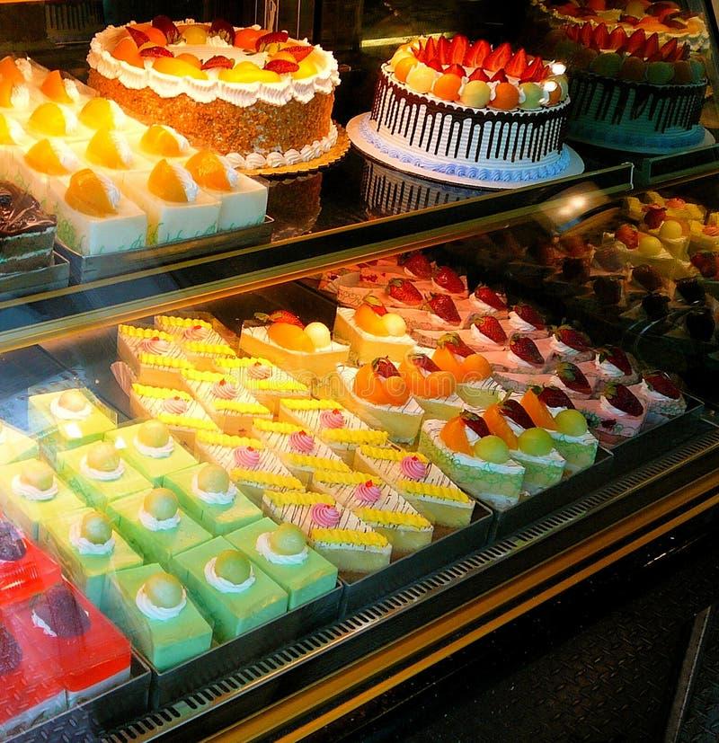 ciastek kolorowych ciasta fotografia stock