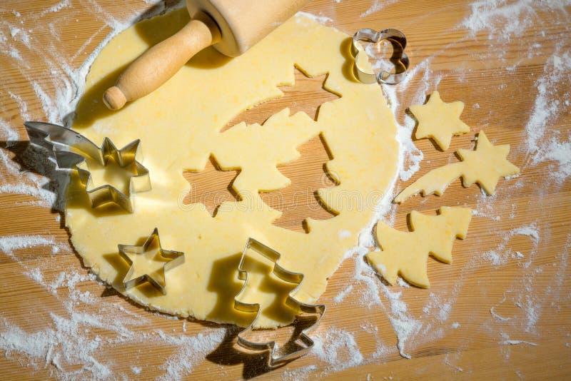 Ciastka dla bożych narodzeń zdjęcie stock