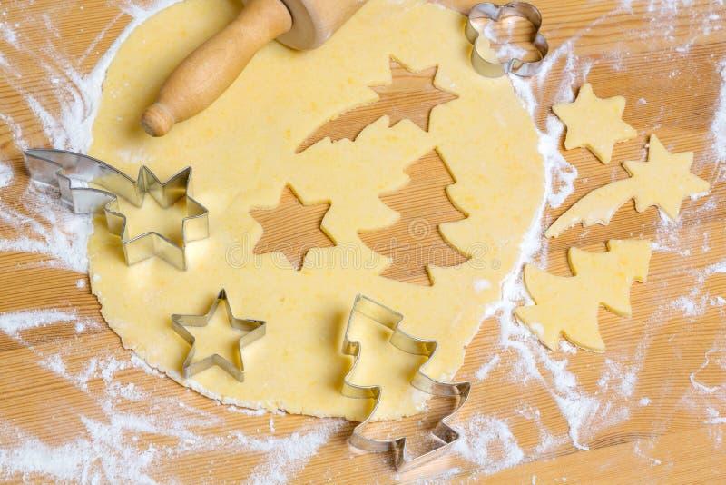 Ciastka dla bożych narodzeń obrazy royalty free