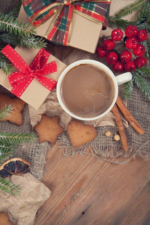 Ciastka i kawa zdjęcie stock