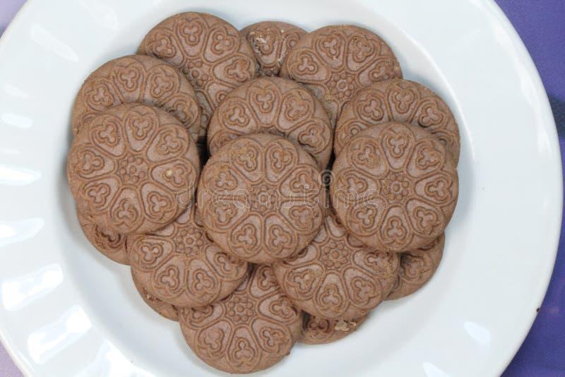 ciastka kakaowi zdjęcia royalty free