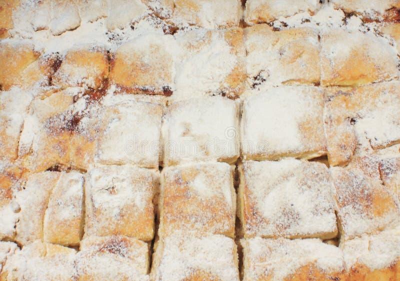 Download Ciastka pudrujący cukier zdjęcie stock. Obraz złożonej z cukier - 53791514