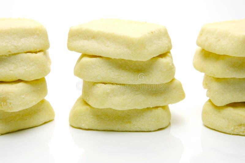 ciastka shortbread obrazy stock