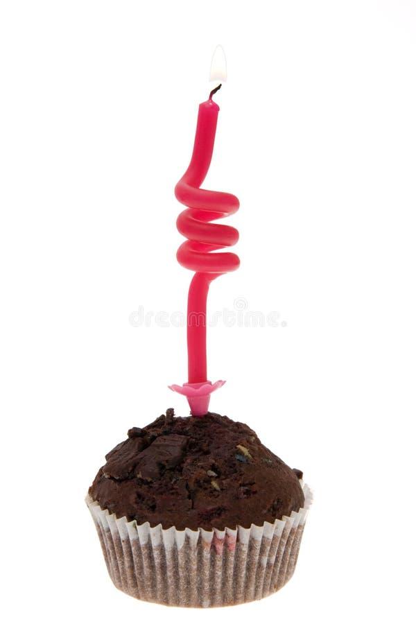 ciastka urodzinowi śmieszne fotografia stock