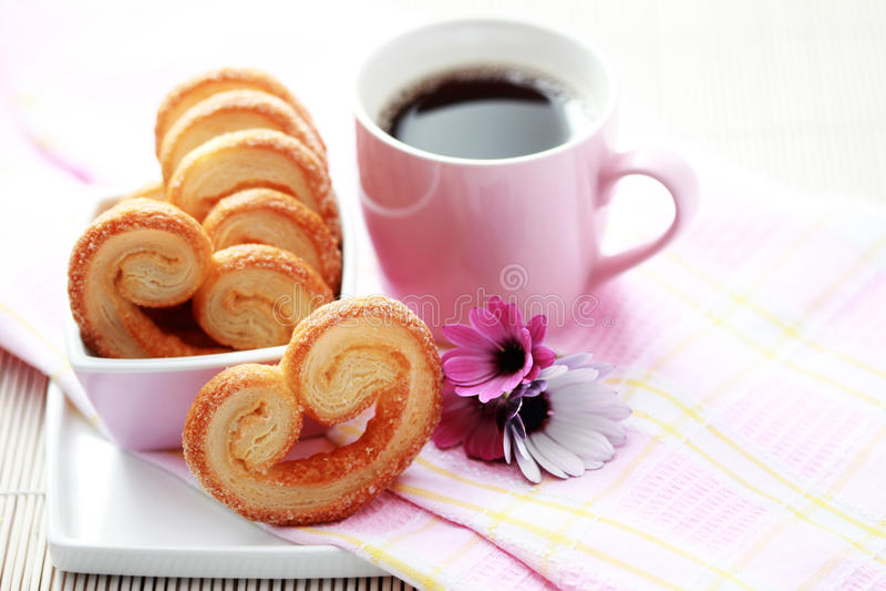 ciastko kawowa filiżanka obraz royalty free