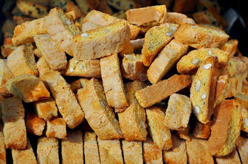ciastko włoch Tuscan zdjęcie royalty free