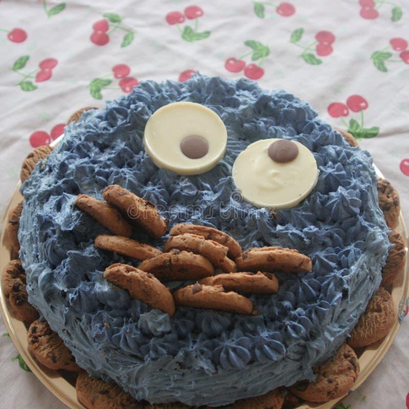 Ciastko zwierzęcy czekoladowy tort zdjęcia stock