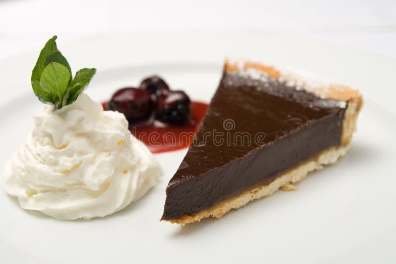 ciasto czekoladowe obraz stock