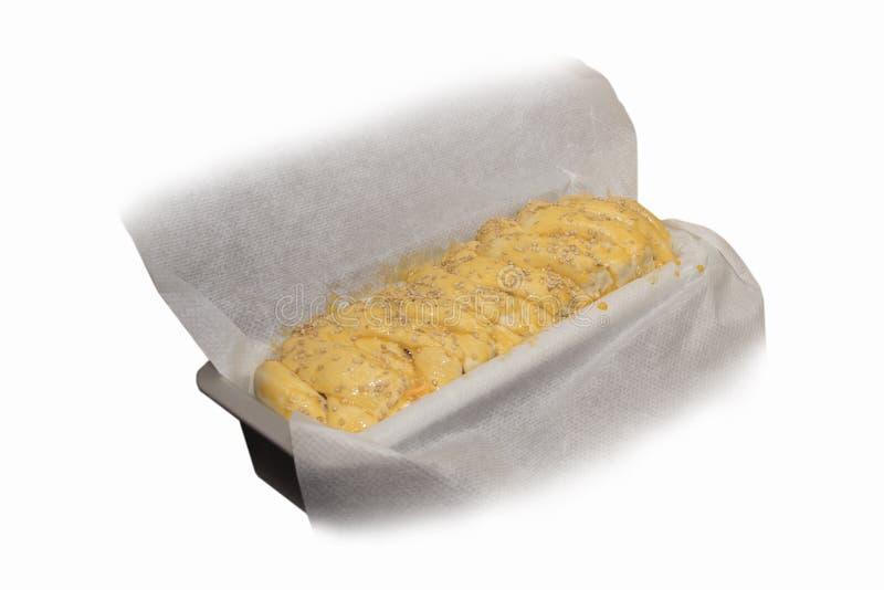 Ciasto dla domowego chleba zdjęcie royalty free