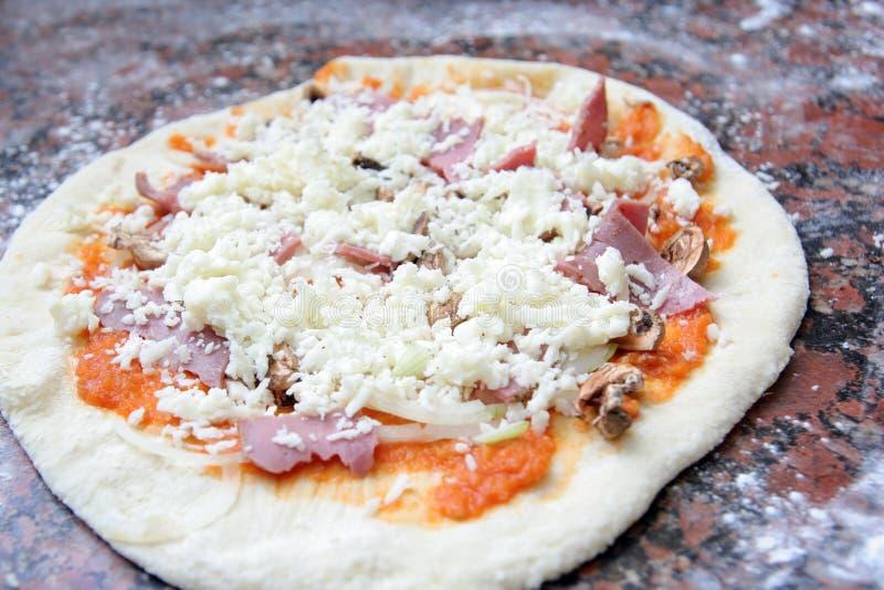ciasto pizza obraz royalty free