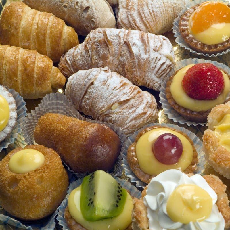 ciasto różnorodny obrazy stock