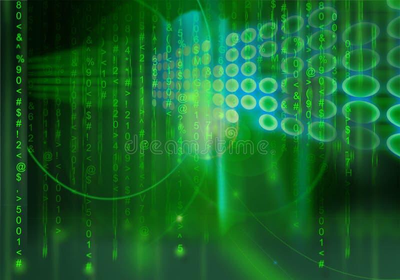 Cibernética - II stock de ilustración
